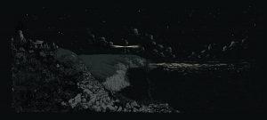 falaise bretonne phare